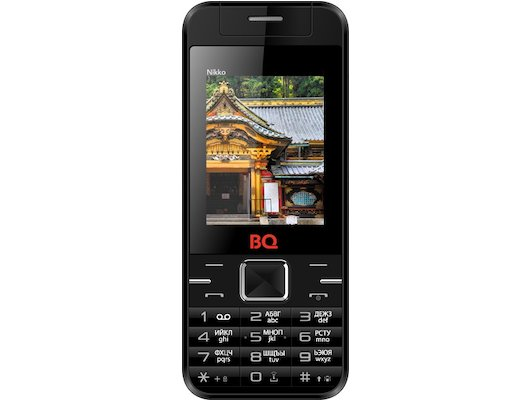 Мобильный телефон BQ BQM-2424 Nikko Black/Blue