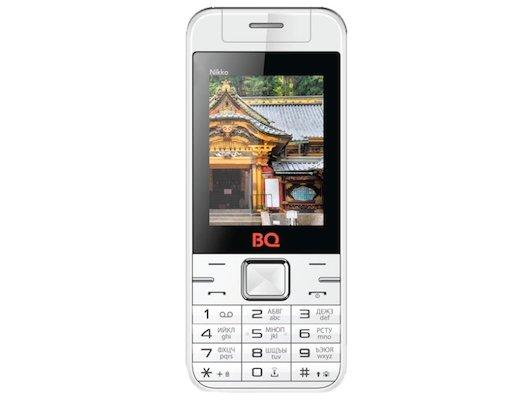 Мобильный телефон BQ BQM-2424 Nikko White/Green