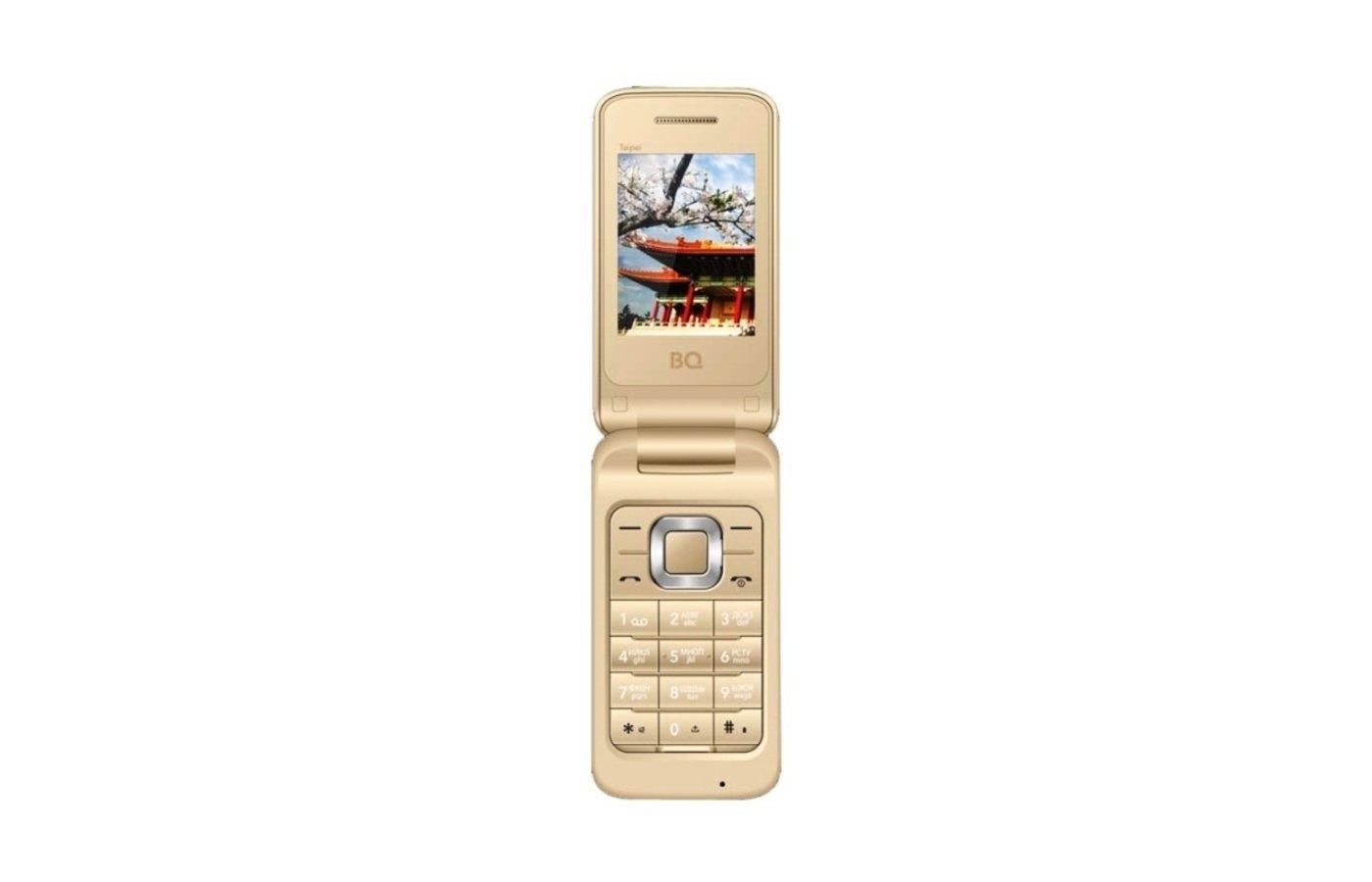 Мобильный телефон BQ BQM-2400 Taipei Gold