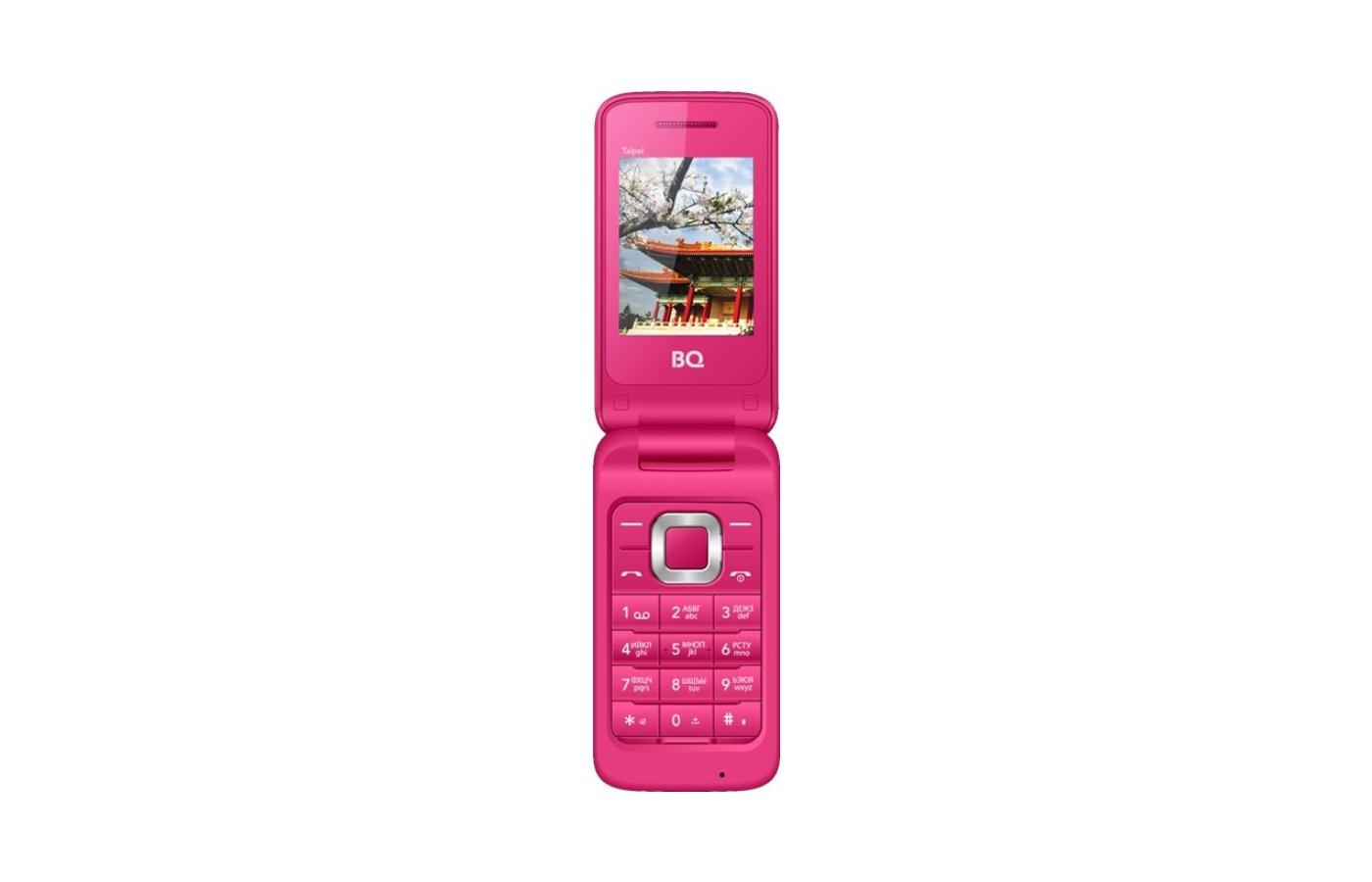 Мобильный телефон BQ BQM-2400 Taipei Pink