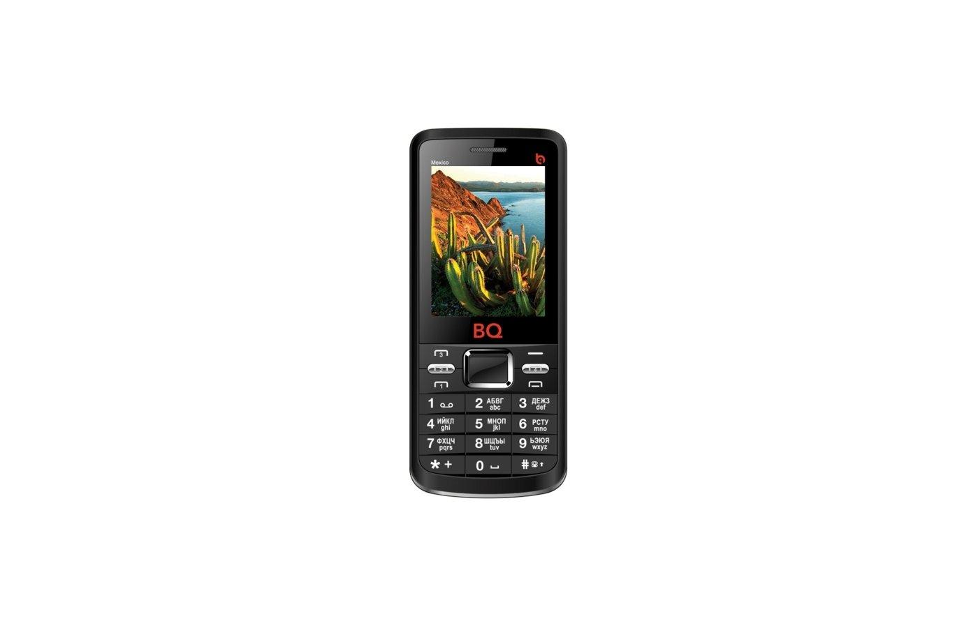 Мобильный телефон BQ 2408 Mexico Black (4SIM)