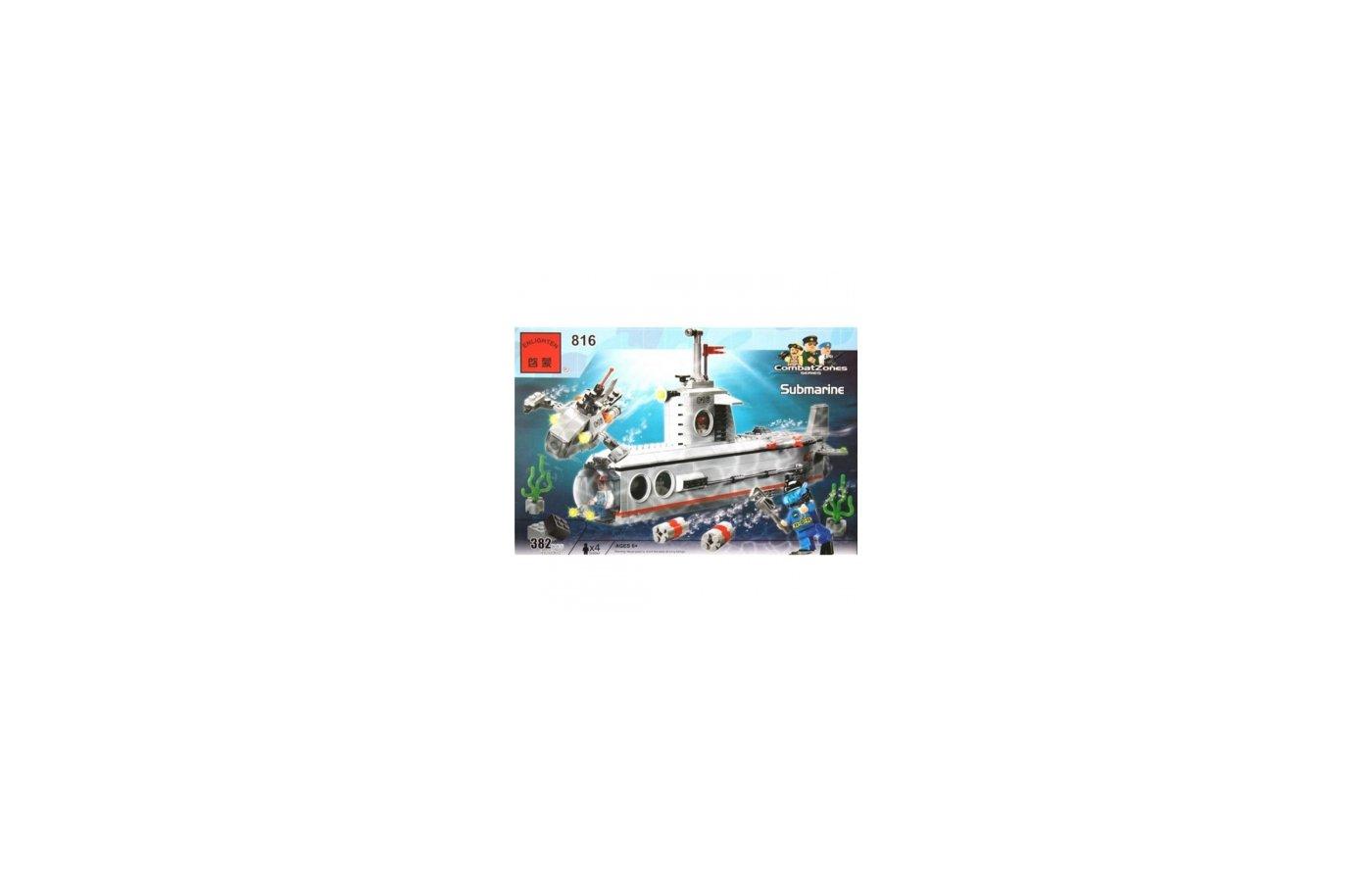 Конструктор ENLIGHTEN BRICK C816 БОЕВАЯ ЗОНА. Подводная лодка