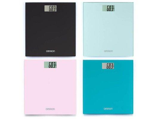 Весы напольные OMRON HN-289 бирюзовые