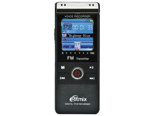 Диктофон Ritmix RR-810 (8Gb) black