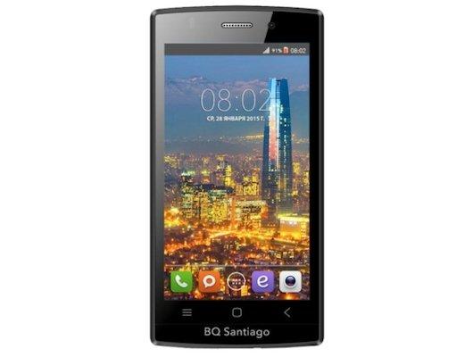 Смартфон BQ BQS-4505 Santiago Pink