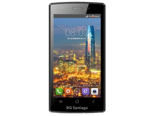 Смартфон BQ BQS-4505 Santiago White