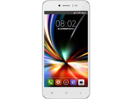 Смартфон BQ BQS-5055 Turbo Plus LTE White