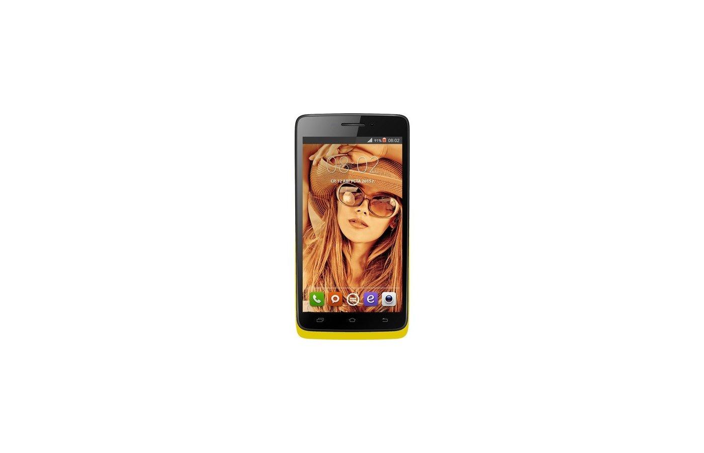 Смартфон BQ BQS-4707 Montreal Yellow