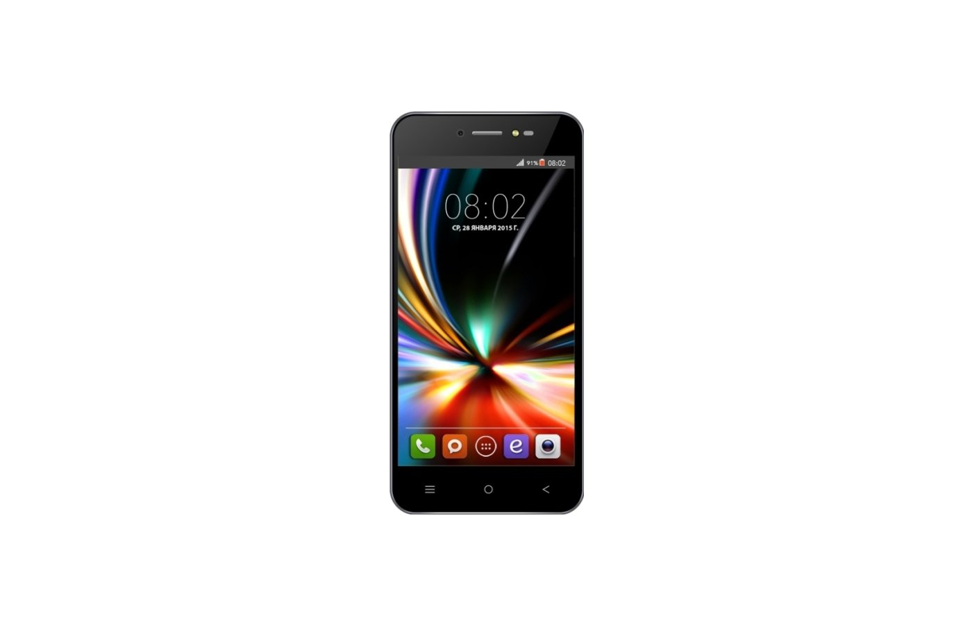 Смартфон BQ BQS-5055 Turbo Plus LTE Black