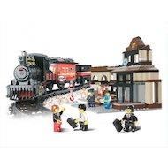 Фото Конструктор SLUBAN M38-B0236 Железнодорожный вокзал Скорый поезд