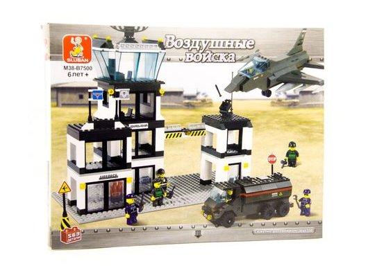 Конструктор SLUBAN M38-B7500 Воздушные войска. Командный пункт