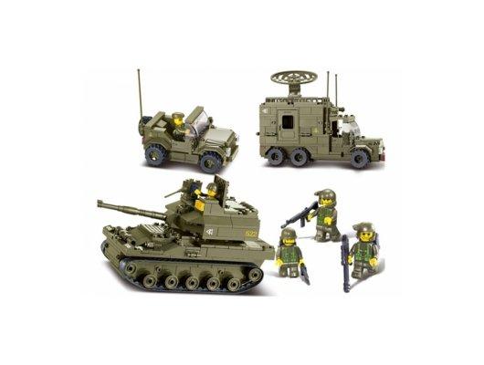 Конструктор SLUBAN M38-B0308 Сухопутные войска Боевой отряд