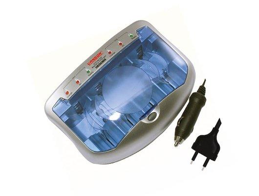 Зарядное устройство Зарядное устройство Vanson V-2299 (4AA/AAA Ni-Cd/Mh CD29V) уск.