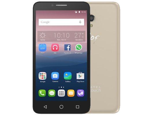 Смартфон Alcatel 5054D POP 3 (5.5) Black Gold