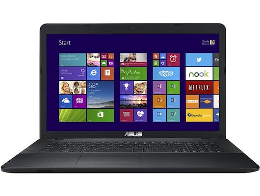 Ноутбук ASUS X751MA-TY304T /90NB0611-M05520/ intel N3540/4Gb/500Gb/DVDSM/17.3HD+/UMA/WiFi/Win10
