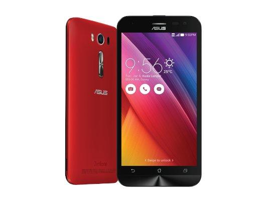 Смартфон ASUS ZE550KL Zenfone 2 Laser 16Gb red
