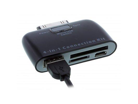 Комплект для подключения автозвука Camera Connection Kit для Samsung micro USB, S501