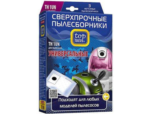 Пылесборники TOP HOUSE 64812 THN 1 UN Универс. многослойные 3 шт