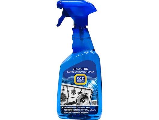 Чистящее средство TOP HOUSE 233905/391480 для нержавеющих поверхностей 700мл