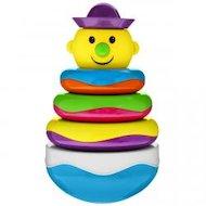 Игрушка Mioshi TY9063 Пирамидка-неваляшка Веселый клоун