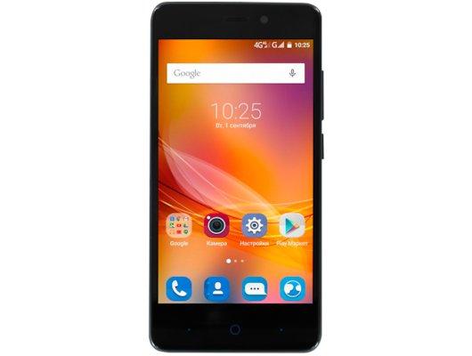Смартфон ZTE Blade X3 4G black