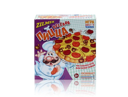 Настольная игра Zilmer ZIL0501-011 Игра для детей и всей семьи Весёлая пицца
