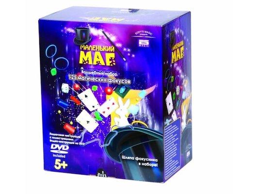 Маленький маг MLM1702-004 125 фокусов, DVD