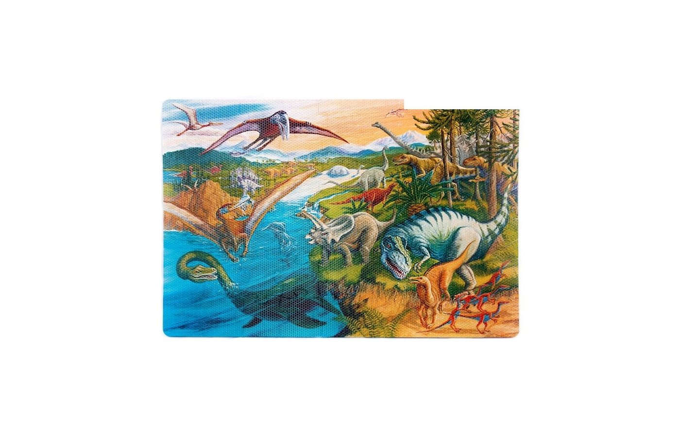 Пазлы Altacto PN140P Пазл - коврик Динозавры