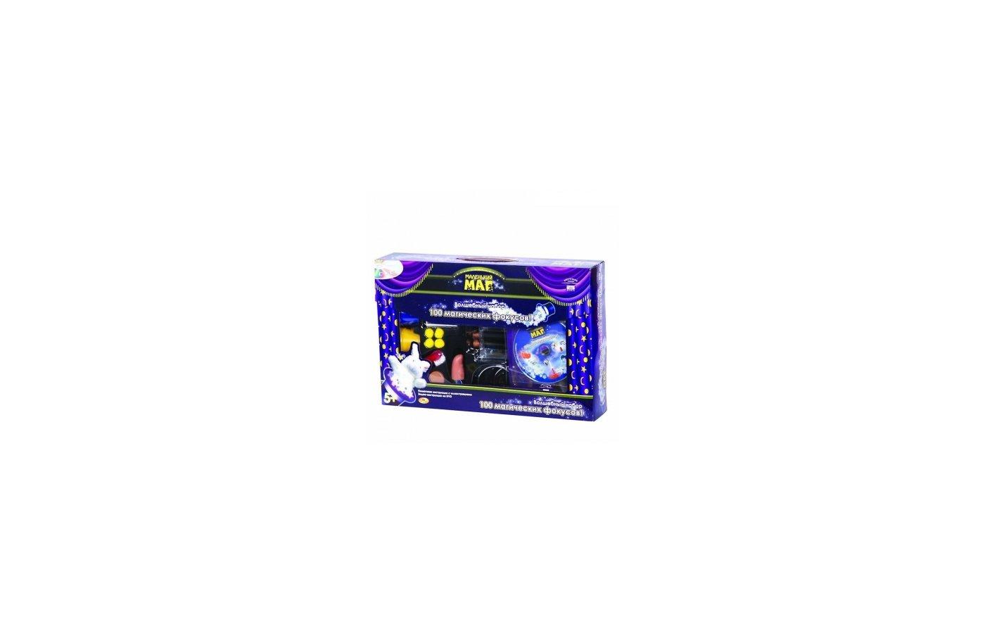 Маленький маг MLM1702-005 100 фокусов, DVD