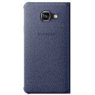 Фото Чехол Samsung Flip Wallet для Galaxy A3 (2016) SM-A310 черный (EF-WA310PBEGRU)