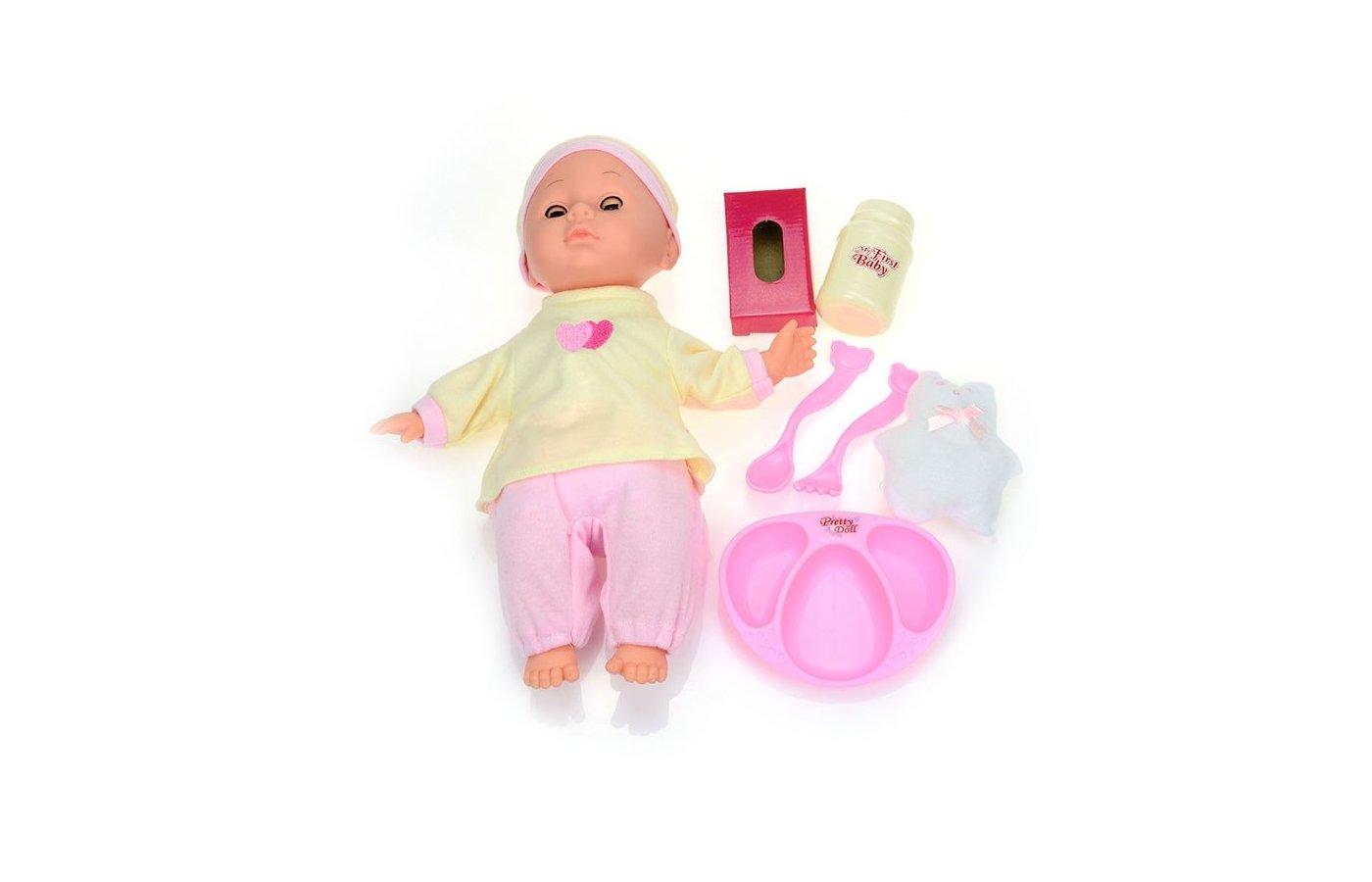 Кукла DollyToy DOL0804-105 Пупс Маленький соня