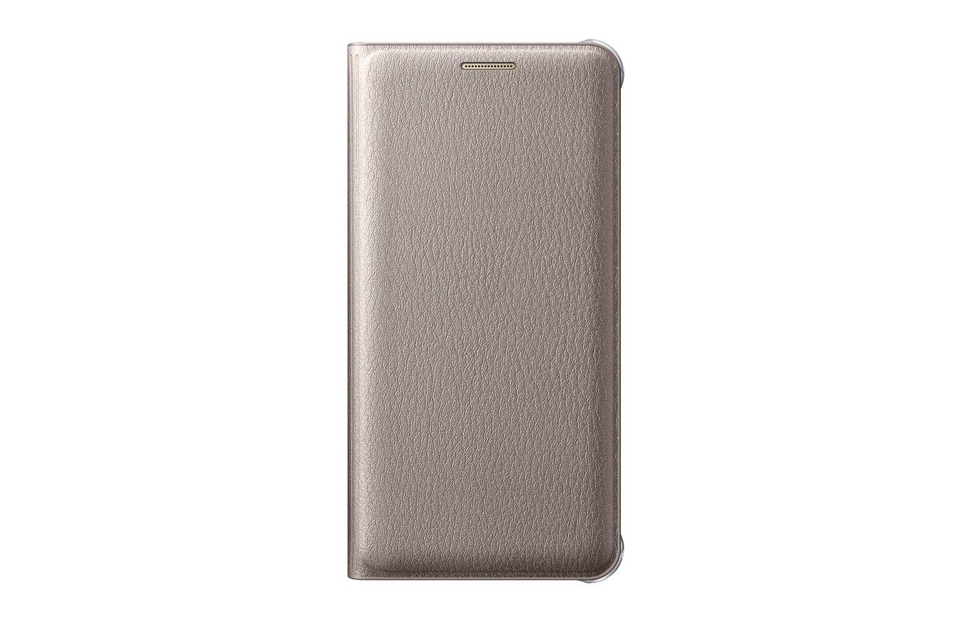 Чехол Samsung Flip Wallet для Galaxy A3 (2016) SM-A310 золотой (EF-WA310PFEGRU)