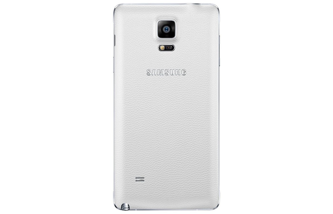Чехол Samsung BackCover для Galaxy Note 4 (SM-N910) (EF-ON910SWEGRU) белый