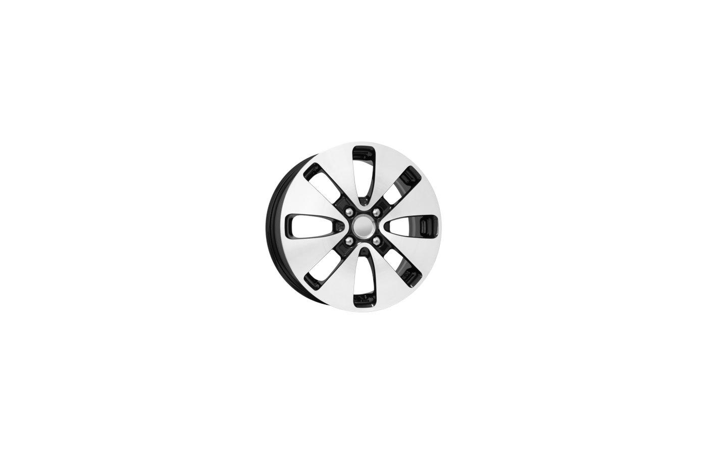 Диск K&K КС582 (Rio) 6x15/4x100 D54.1 ET48 Алмаз черный
