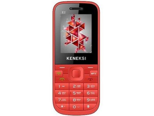 Мобильный телефон KENEKSI E2 Red