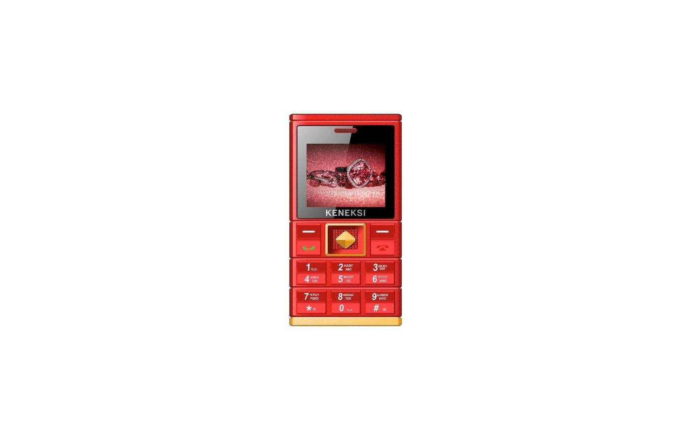 Мобильный телефон KENEKSI ART Red