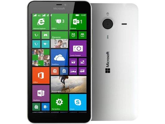 Смартфон Microsoft Lumia 640 XL DS white