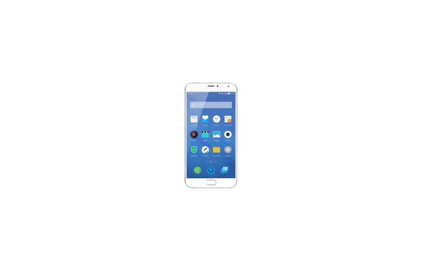Смартфон Meizu MX5 gold back/white front 16Gb