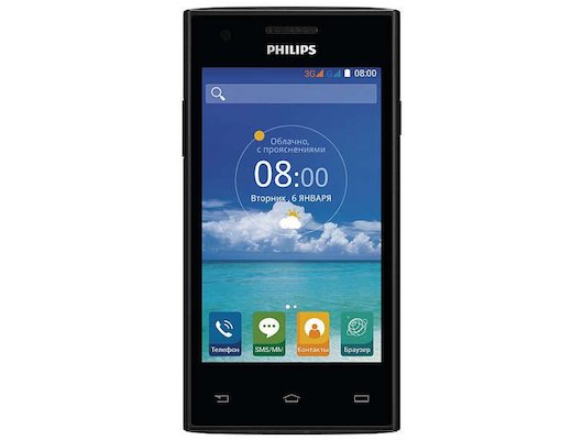 Смартфон PHILIPS S309 Black