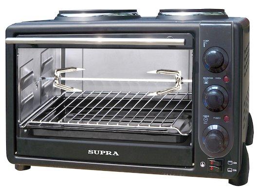 Электрическая мини-печь SUPRA MTS-342 black