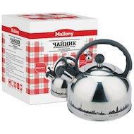 Фото чайник металлический MALLONY MAL-CITY-01 3л 985609