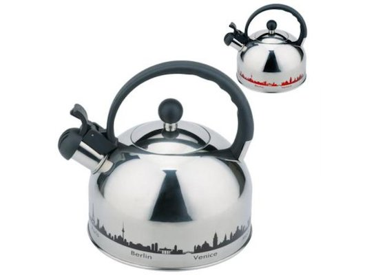 чайник металлический MALLONY MAL-CITY-01 3л 985609