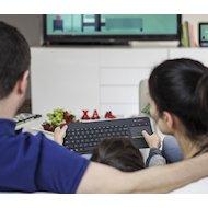 Фото Клавиатура беспроводная Logitech K400 Plus черная для телевизоров