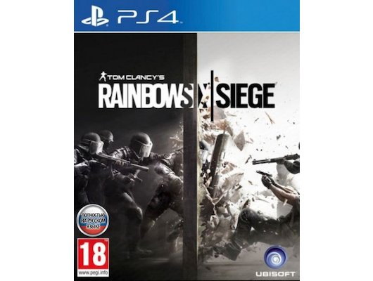 Tom Clancys Rainbow Six: Осада (PS4 русская версия)