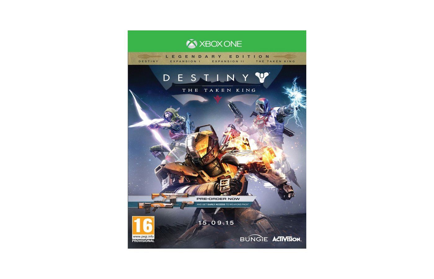 Destiny: The Taken King Legendary Edition (Xbox One английская версия)