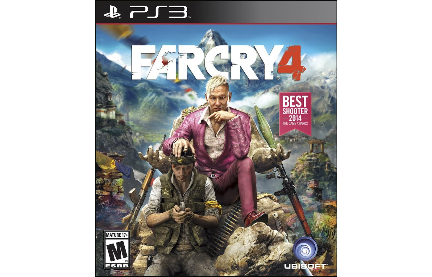 Far Cry 4. (PS3 русская версия)