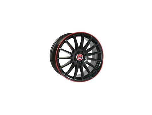 Диск Ё-wheels E05 6x15/4x98 D58.6 ET38 BKRS