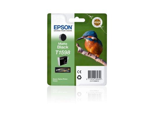 Картридж струйный Epson C13T15984010 картридж (Matte Black для Stylus Photo R2000 (матовый черный))