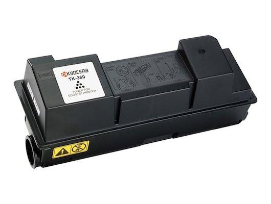 Картридж лазерный Kyocera TK-360 для FS-4020DN. Чёрный. 20000 страниц.