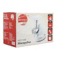 Фото Мясорубка SUPRA MGS-1600 silver